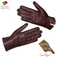Men Leather Gloves (H182013)