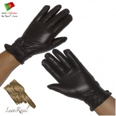Men Leather Gloves (H362013)