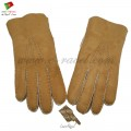 Men Shearling Sheepskin Gloves (HB22016)