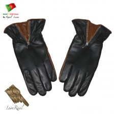 Men Leather Gloves (HMOT32014)