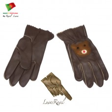 Kids Leather Gloves (C802013)