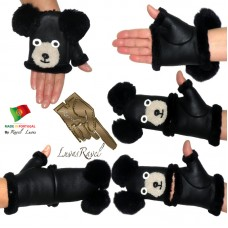 Kids Leather Gloves (CB42013)