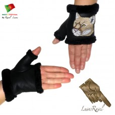 Kids Leather Gloves (CB32013)