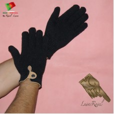 knitted Gloves for Men (HL22013)