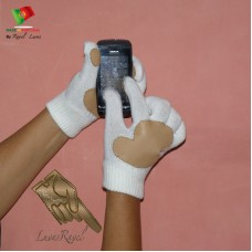knitted Gloves for Ladies-Touch Screen (SL72013)