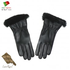 Ladies Leather Gloves (S12014)