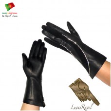 Ladies Leather Gloves (S172013)