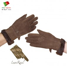 Ladies Leather Gloves (S192013)