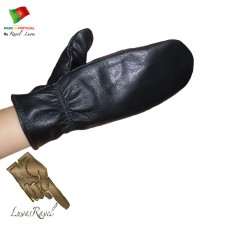 Leather Mittens (S242013)