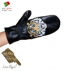 Leather Mittens (S252013)