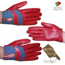 Ladies Leather Gloves (S332013)