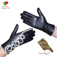 Ladies Leather Gloves (S502013)