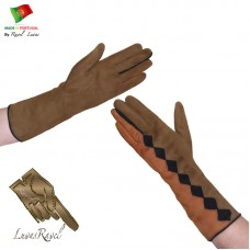 Ladies Leather Gloves (S652013)
