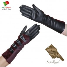 Ladies Leather Gloves (S662013)
