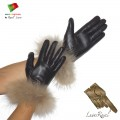 Ladies Leather Gloves (S71)