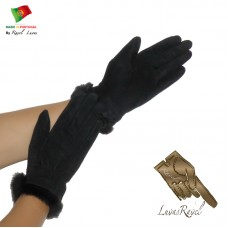 Ladies Leather Gloves (S852013)