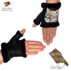 Ladies Leather Gloves (SB32013)