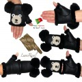 Ladies Leather Gloves (SB42013)