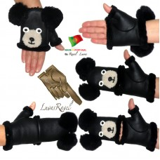 Ladies Leather Gloves (SB42013)