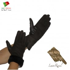 Ladies Leather Gloves (SB92013)