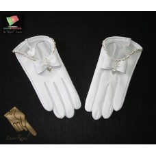 Ladies Leather Bridal Gloves (SNOIVA2014)