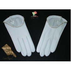 Ladies Leather Bridal Gloves (SNOIVA22014)