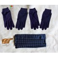 Set of Face Mask and Cotton Gloves, Reusable, Washable (SETMASKGLOVES2020)